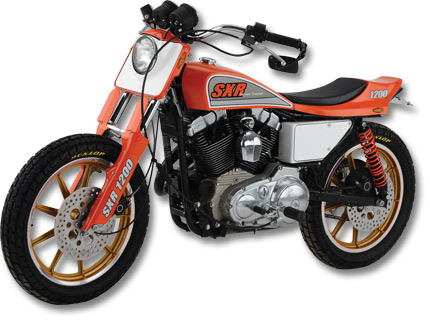 SXR Street Tracker left side