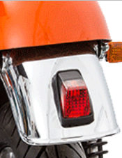 yamaha storm tail light